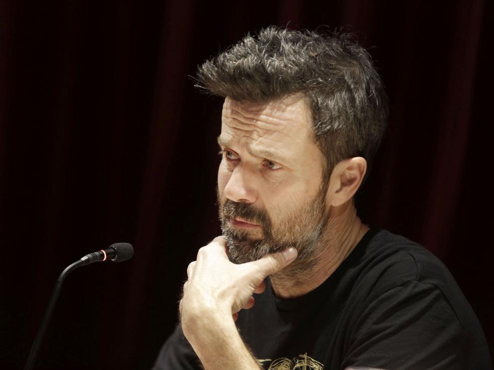 Pau Donés en la presentación del disco.