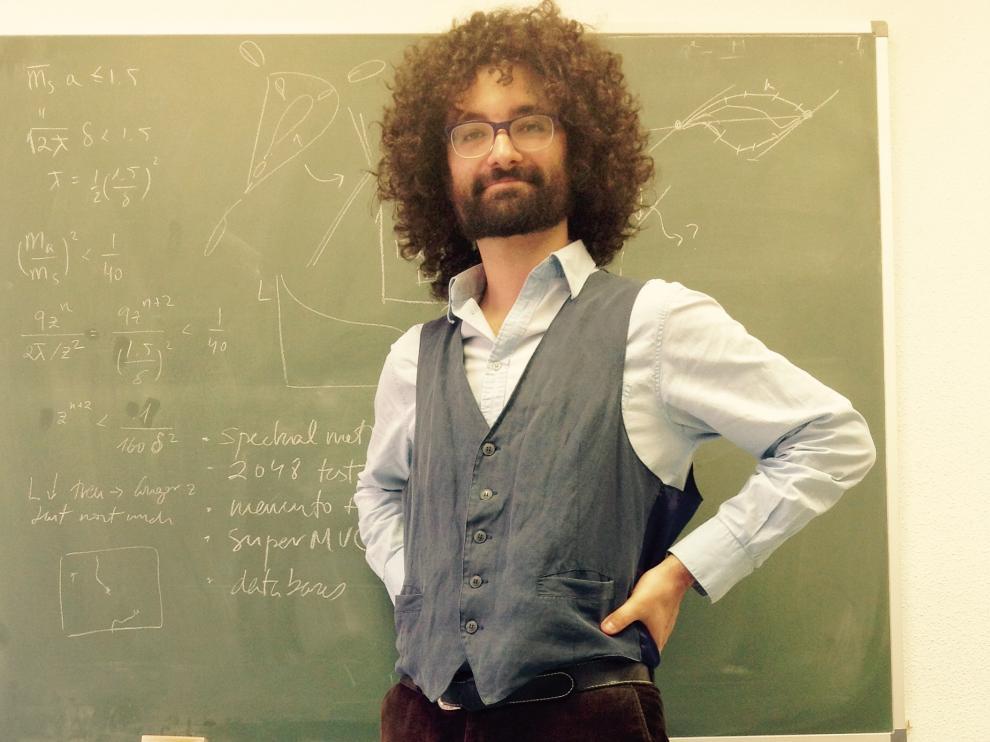 El físico teórico aragonés Javier Redondo.