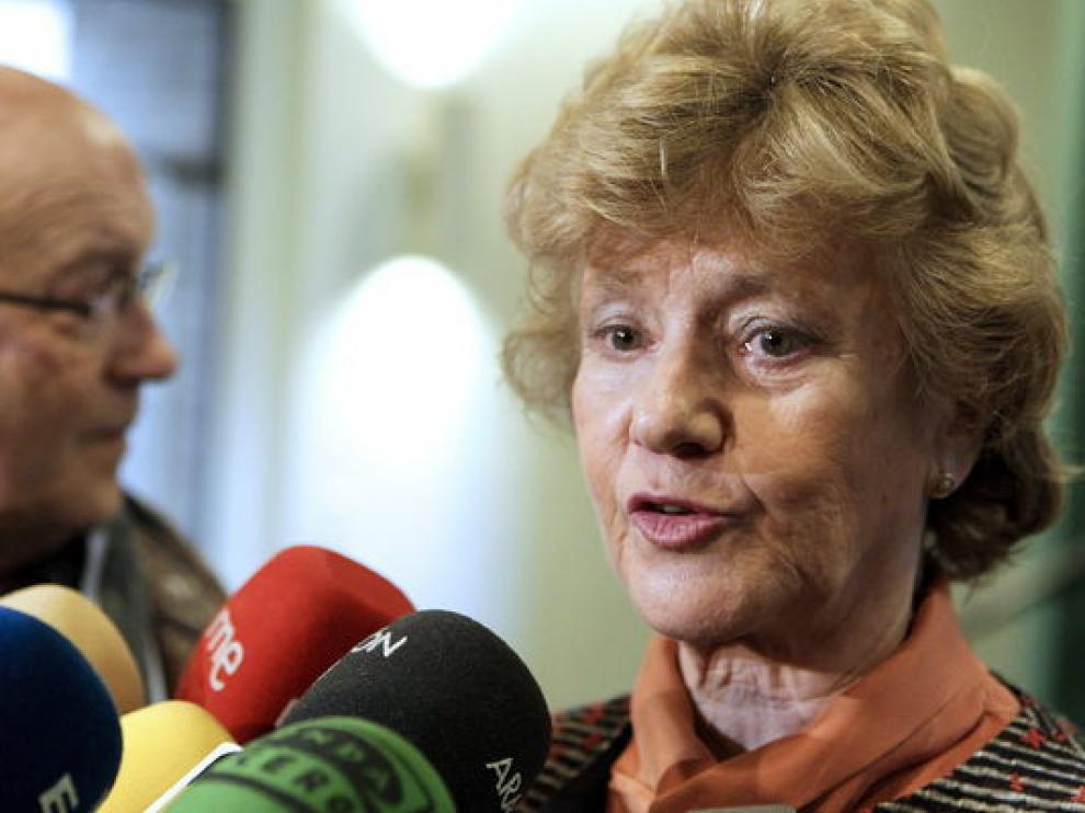 Soledad Becerril, defensora del Pueblo, en una imagen de archivo.