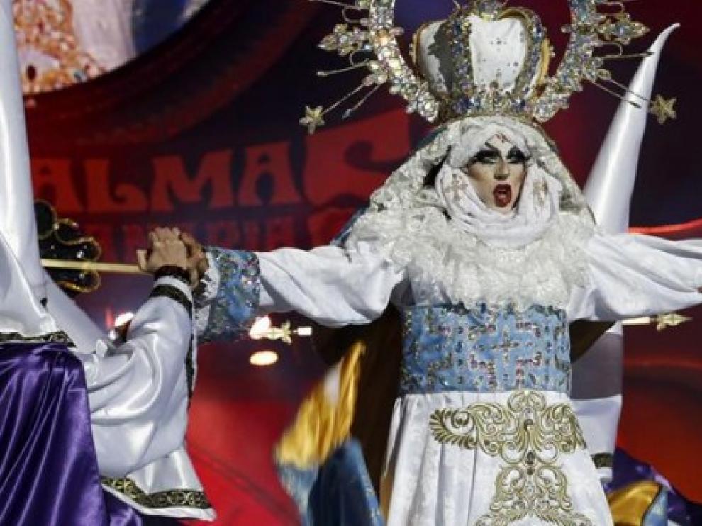 La virgen Drag del Carnaval de Gran Canaria.