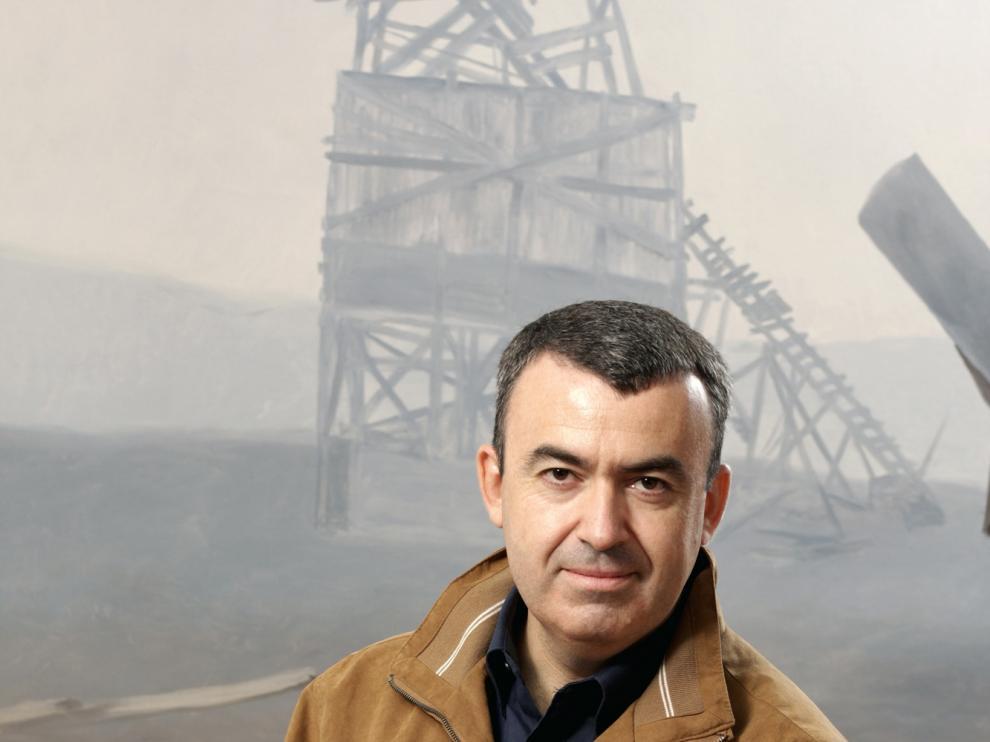 El escritor Lorenzo Silva, premio Planeta 2012 y premio Nadal 2000.
