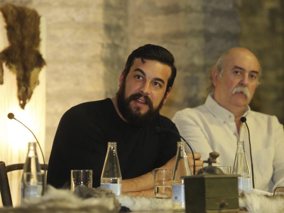 Mario Casas rodará en la zona del Sobrarbe de Huesca 'Bajo la piel del lobo'.