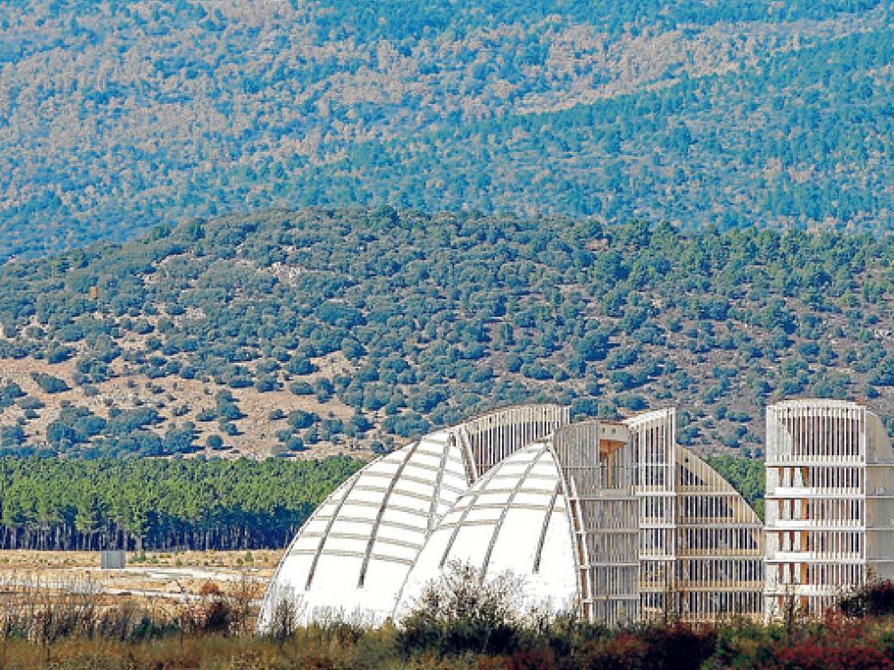 La Cúpula de la Energía de la Ciudad del Medio Ambiente (CMA), proyecto original que derivó en el Parque Empresarial (PEMA)