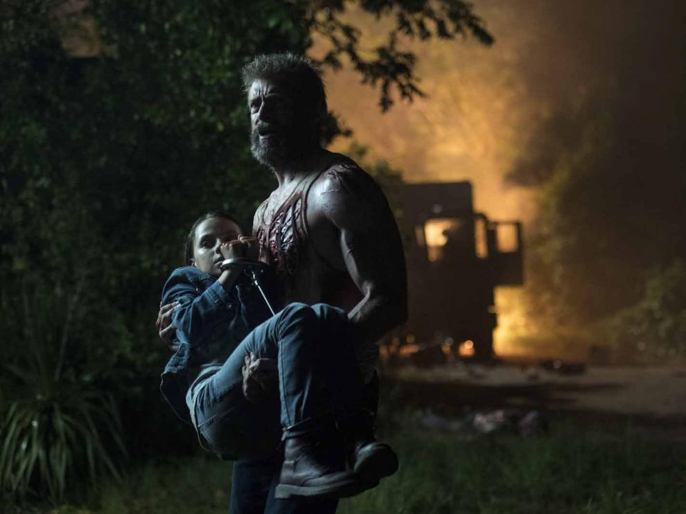 Imagen de la película 'Logan' con Hugh Jackman
