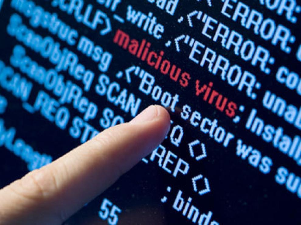 Imagen de archivo de un virus informático.