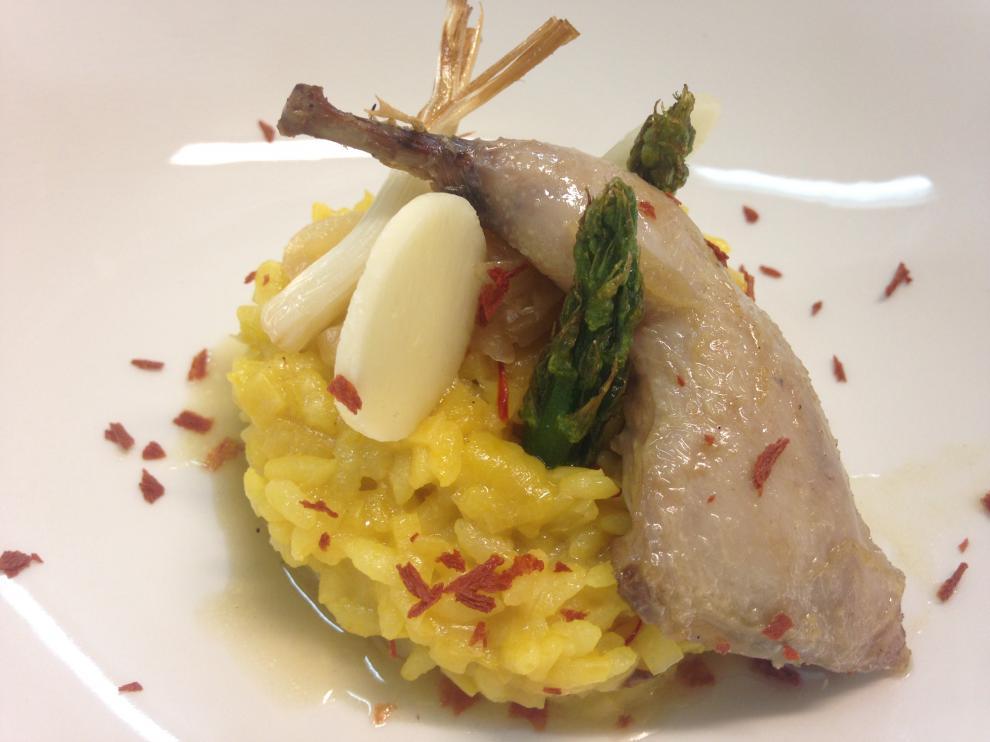 'Canto a la tierra y al cielo', uno de los platos dedicados al Pastor de Andorra