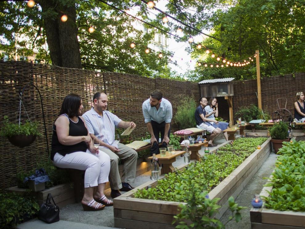 Restaurante Olmsted en Nueva York, Estados Unidos.