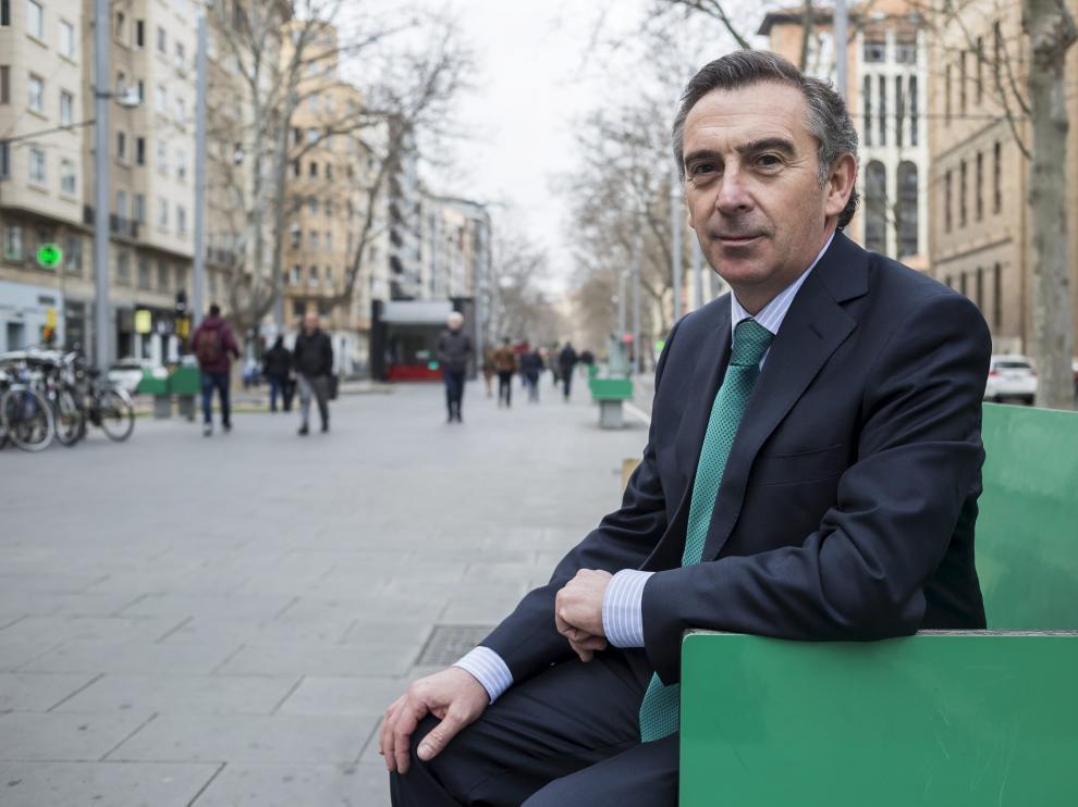 Luis María Beamonte, presidente del PP-Aragón