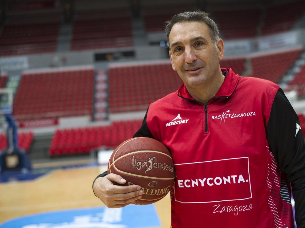 Luis Guil, exentrenador del Tecnyconta Zaragoza.