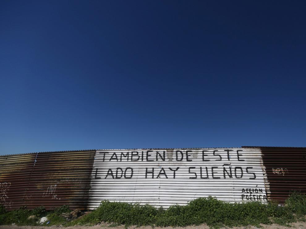 Una parte del muro que separa México y Estados Unidos en Tijuana.