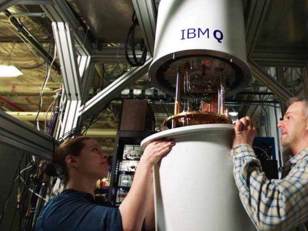 Los ordenadores cuánticos IBM Q necesitan temperaturas cercanas al cero absoluto para funcionar