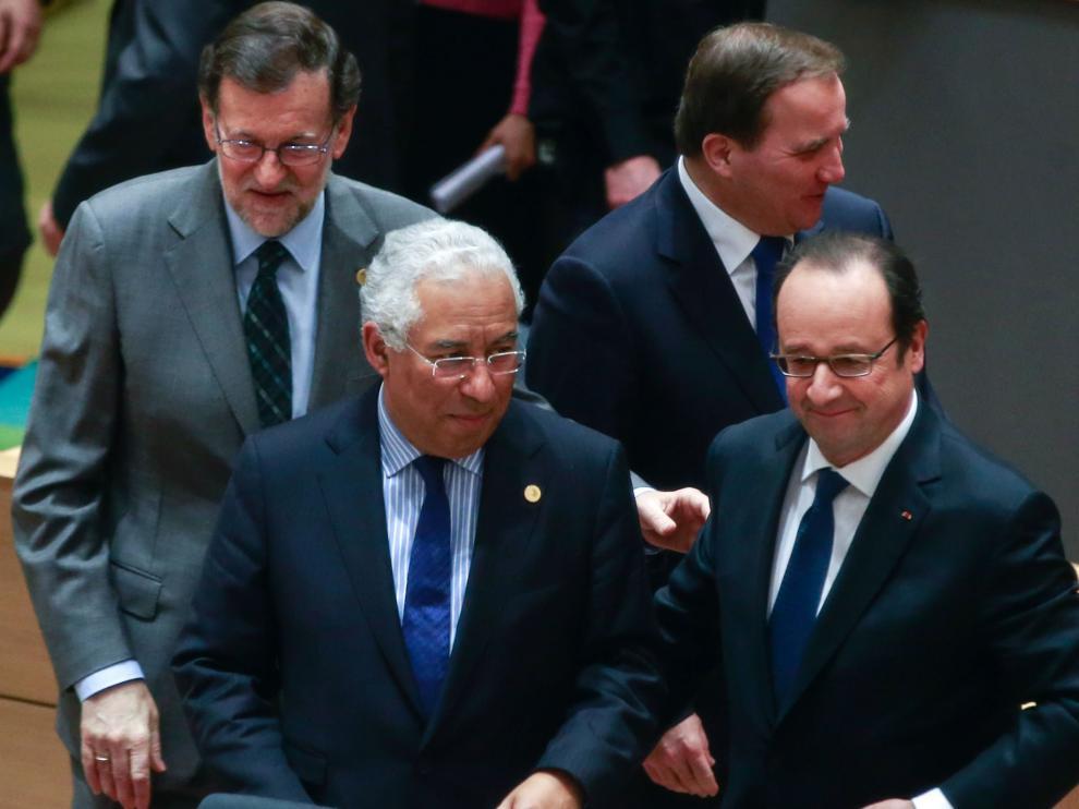 Rajoy en el Consejo de Europa