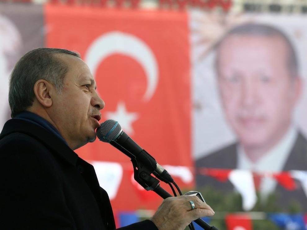 El presidente turco, el islamista Recep Tayyip Erdogan.