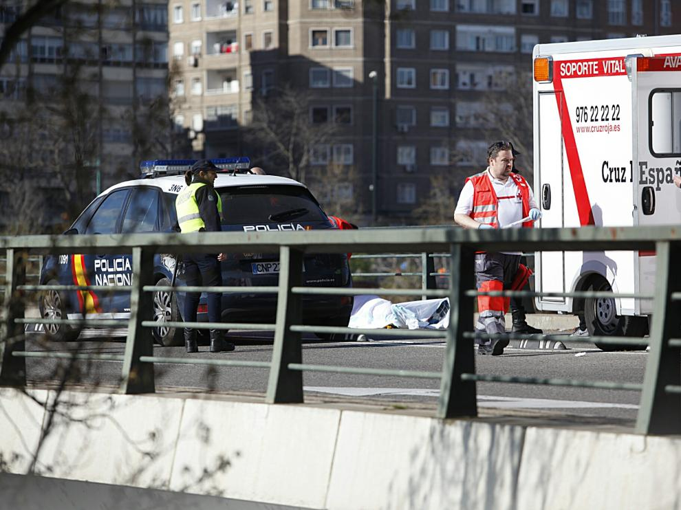 Un hombre fallecido en el Medio Maratón de Zaragoza