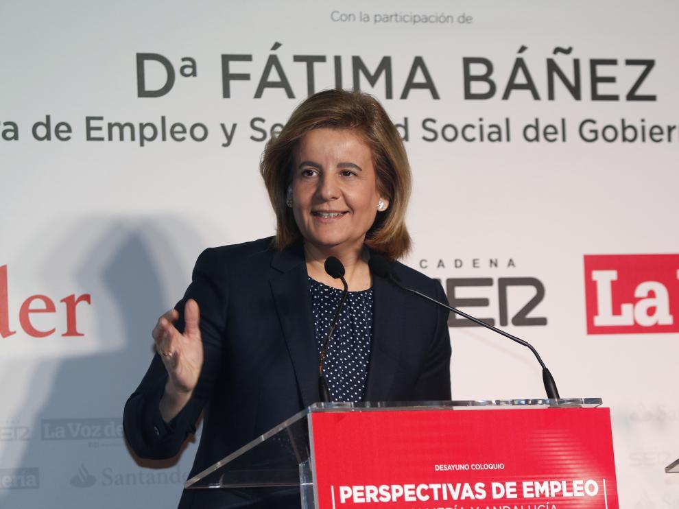 Fátima Báñez en Almería.