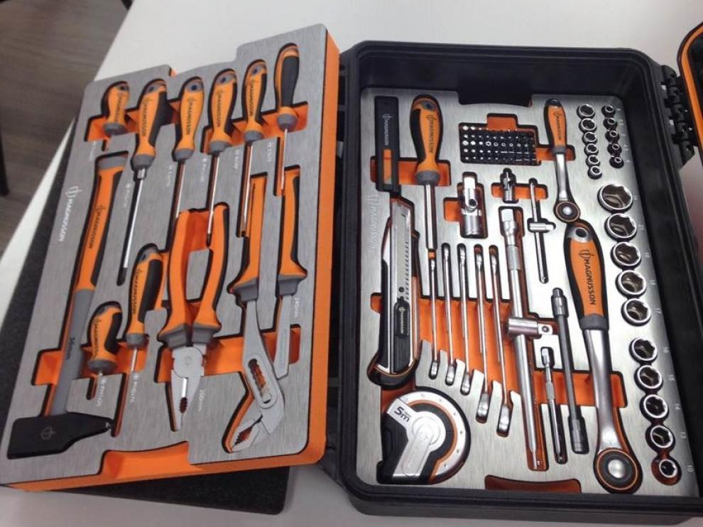 Caja de herramientas de Bricodepot
