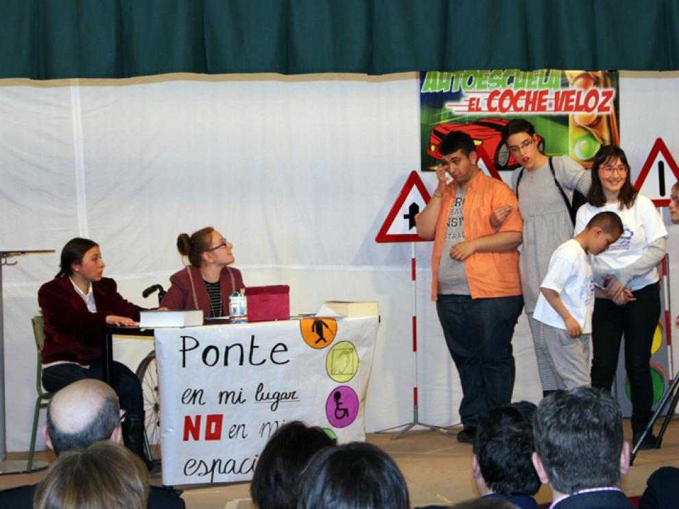 El CPEE Santa Isabel, ganador de un concurso de la DGT