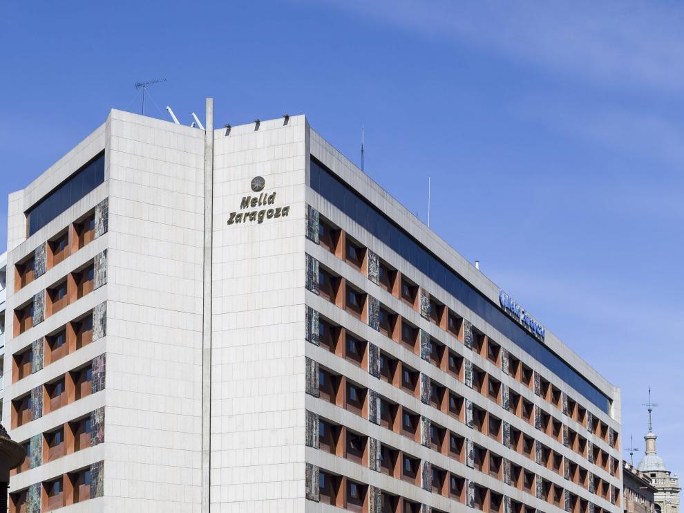 Imagen del Hotel Meliá de Zaragoza