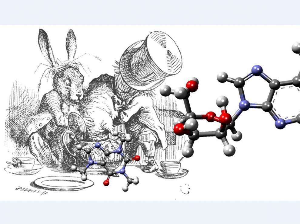 Concurso Adopta tu molécula. Reto químico. Una molécula..