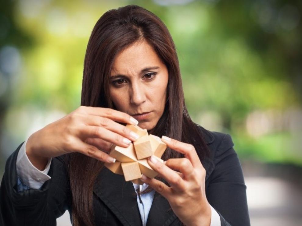 Manipular los objetos de un problema nos ayuda a pensar mejor