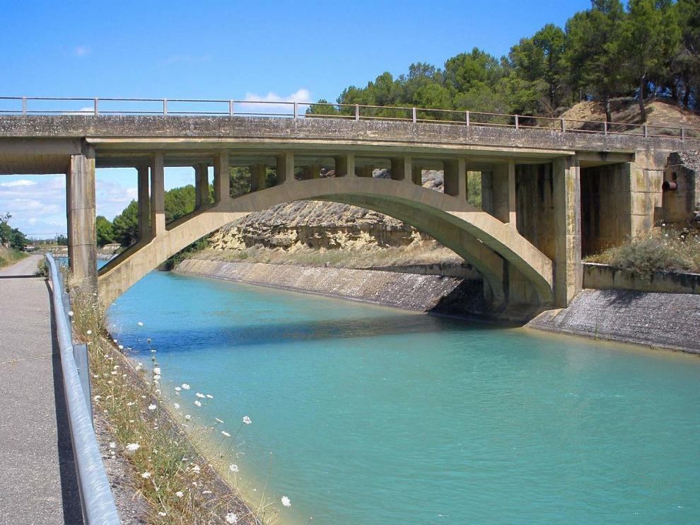 Canal de Bardenas.
