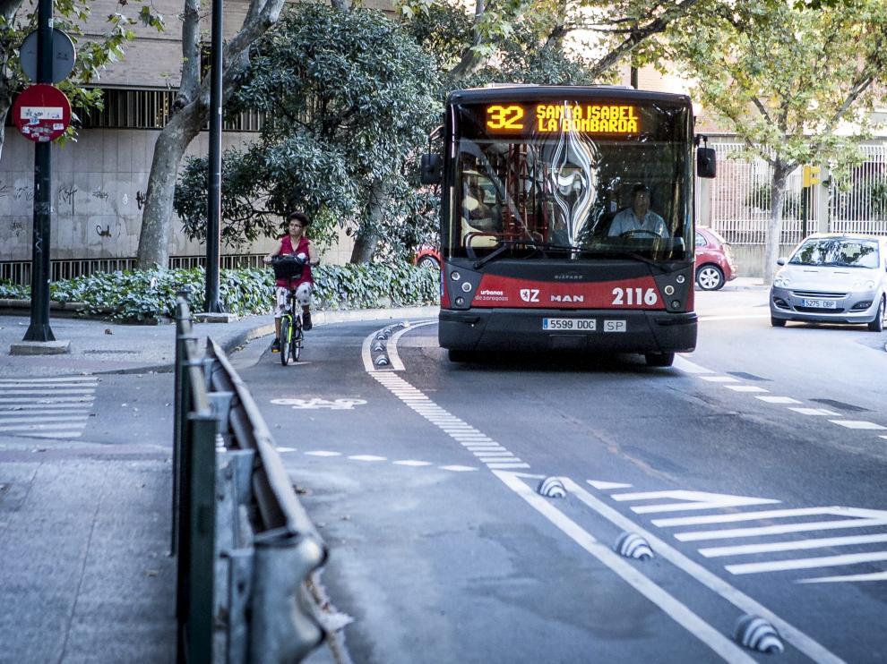 La prioridad semafórica de los buses se probará en febrero