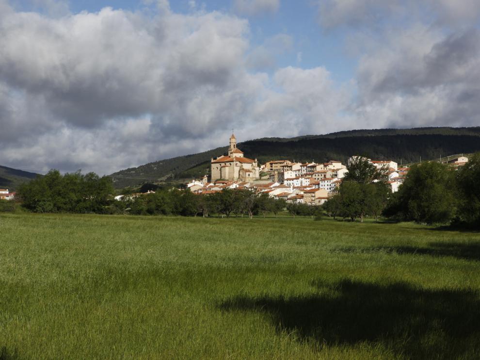 Orihuela del Tremedal, en la serranía de Albarracín.
