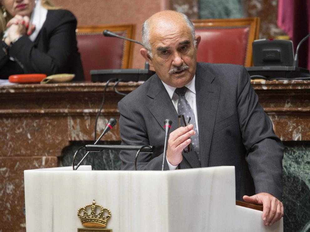 Alberto Garre, expresidente de Murcia, en una foto de archivo.