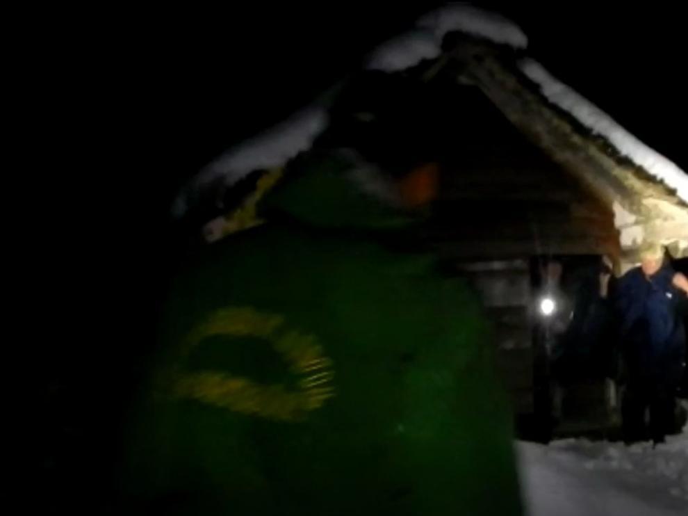 Dos senderistas holandeses rescatados en el Pirineo