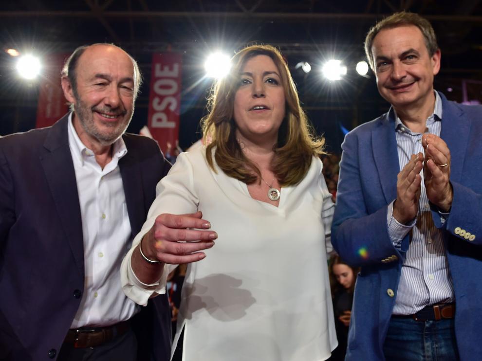 """Zapatero: """"Hoy empieza una etapa en la que veremos una presidenta de Gobierno"""""""