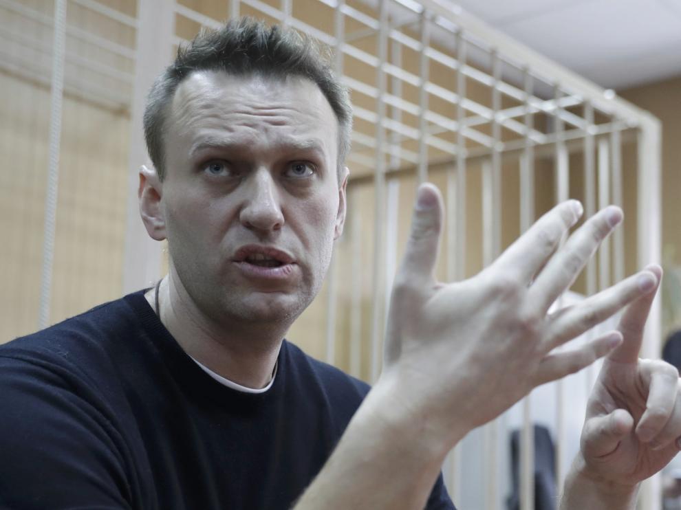 El líder opositor ruso Alexéi Navalni