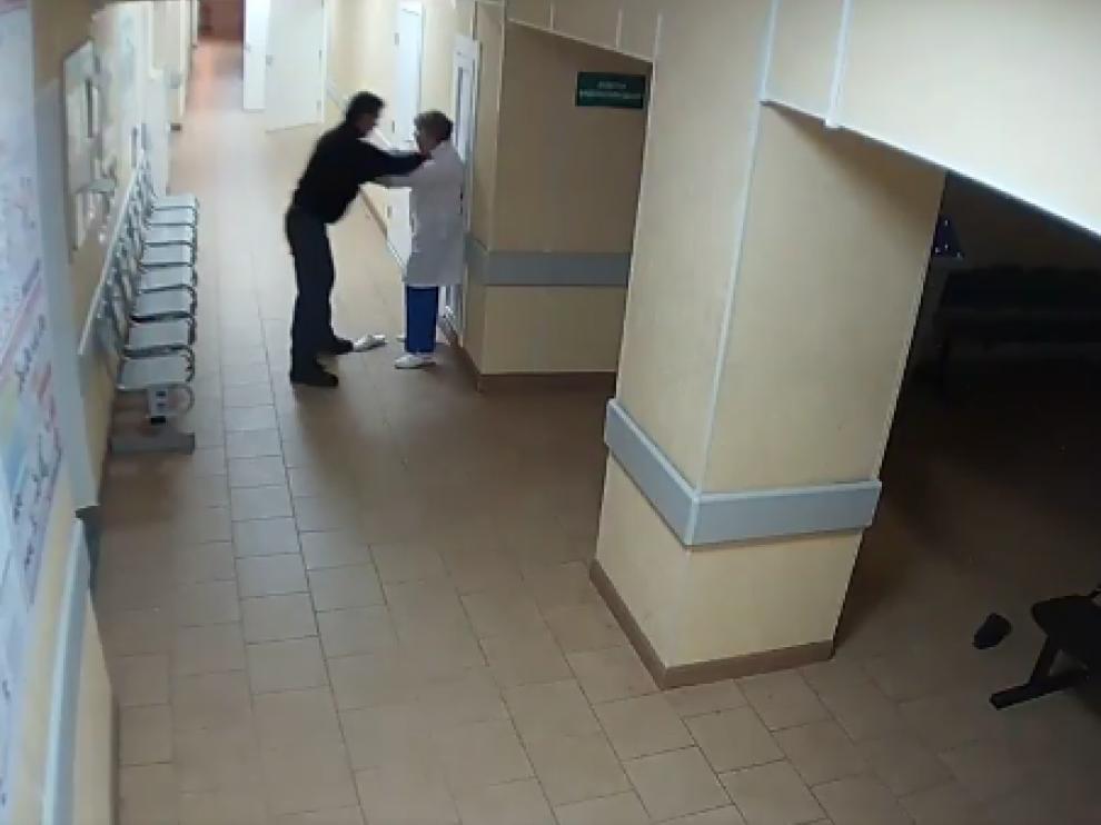 Vídeo de la agresión supuestamente ocurrida en España.