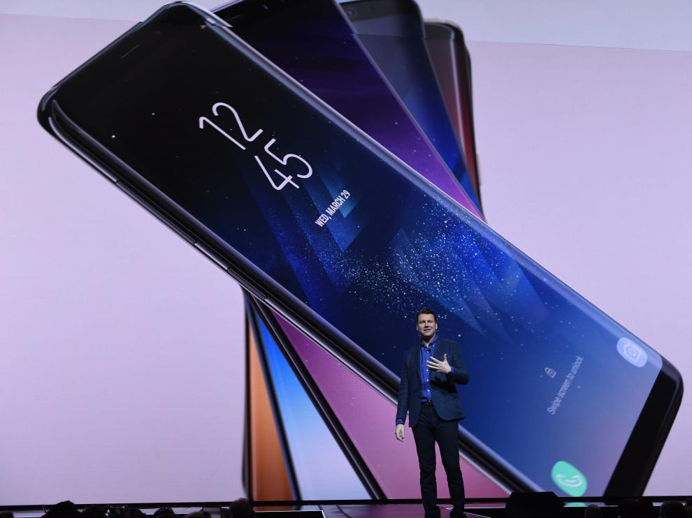 Presentación del Samsung S8.