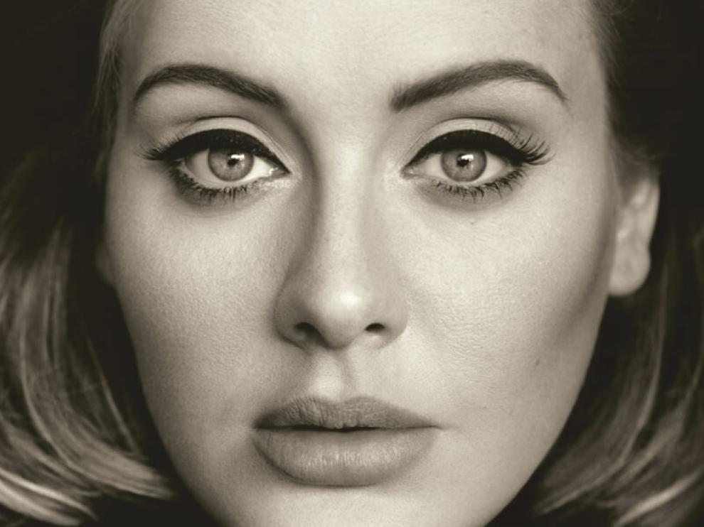 Carátula del último disco de la cantante Adele.
