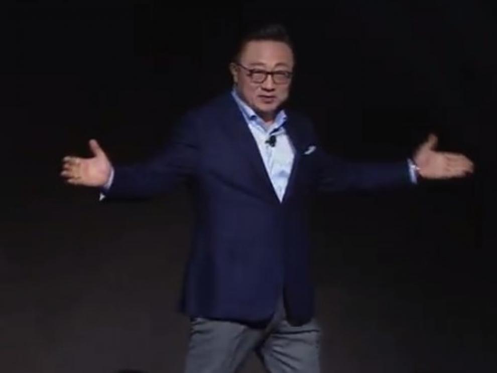 Presentación de Samsung