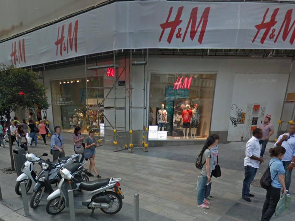 Una de las tiendas de H&M en Madrid.