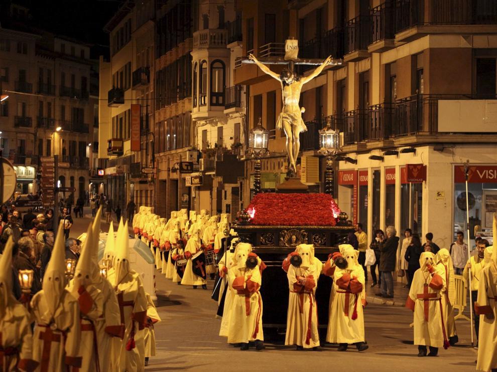 Procesión del Cristo del Perdón, de Huesca.