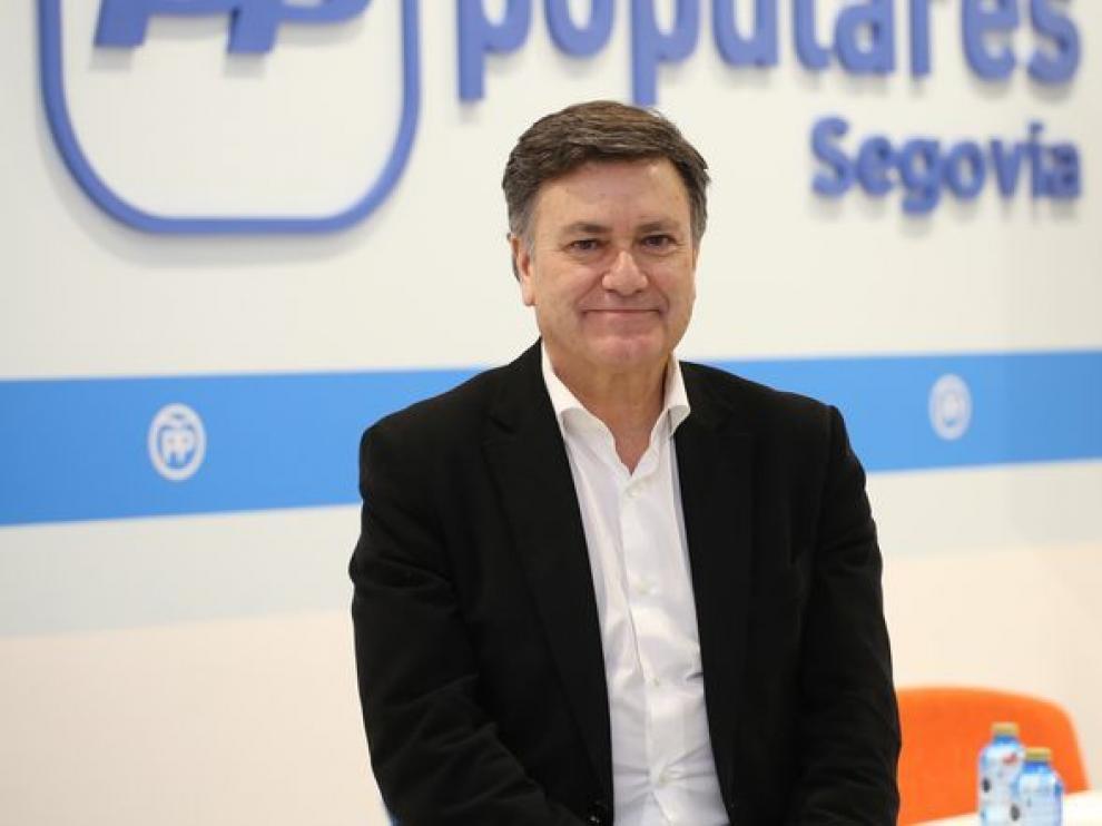 El presidente del PP de Segovia, Francisco Vázquez