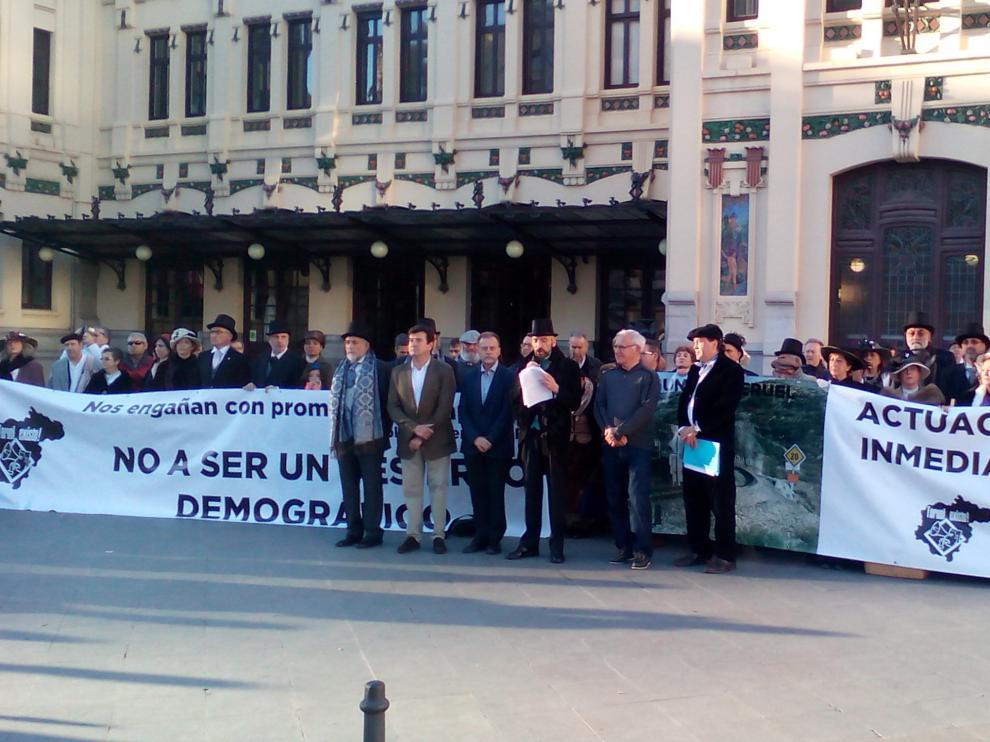 Teruel se moviliza para buscar alianzas al corredor Cantábrico-Mediterráneo