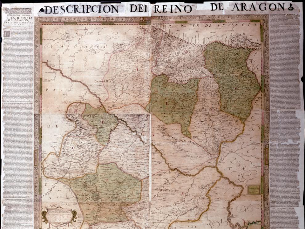 'Descripción del Reino de Aragón', obra de Labaña accesible en la Biblioteca Digital Mundial.
