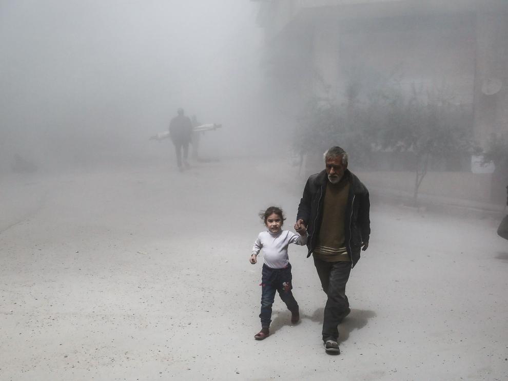 Ataque químico en Siria.