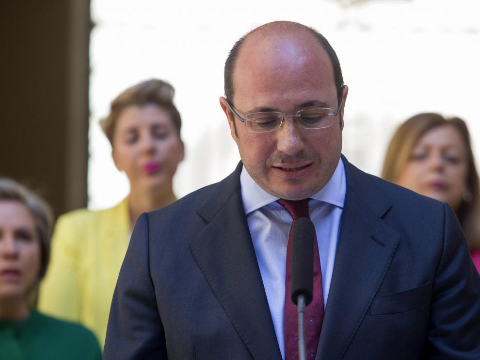 El expresidente de la Comunidad de Murcia, Pedro Antonio Sánchez.