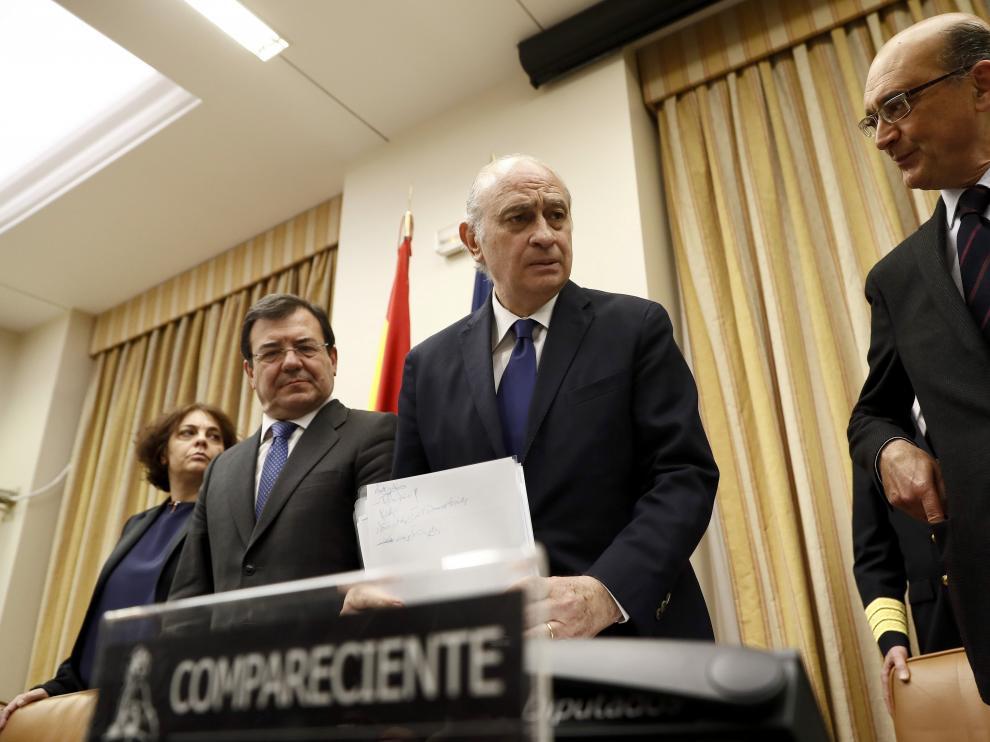 Comparecencia del exministro del Interior Jorge Fernández Díaz.