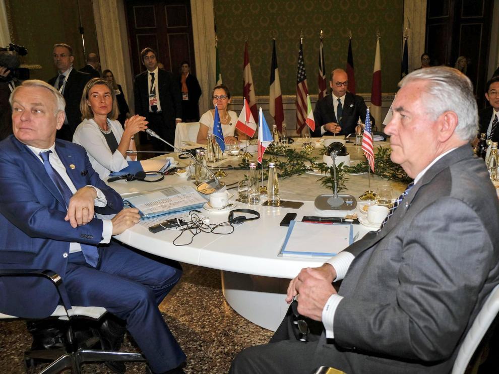 Los ministros de Exteriores del G7 se han reunido en Italia.