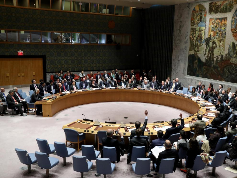 Consejo de Seguridad de la ONU sobre Siria