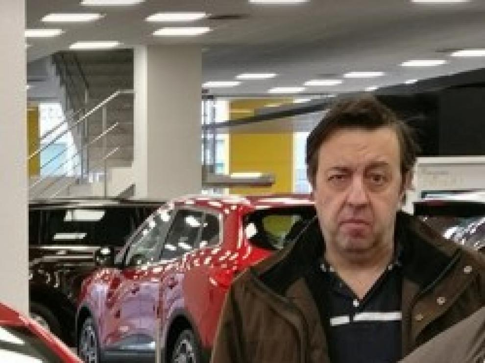 Imagen del hombre de 57 años, desaparecido de Garrapinillos