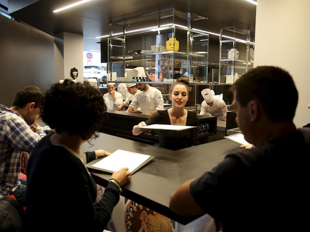 Nuevo local del restaurante Tatau Bistro de Huesca