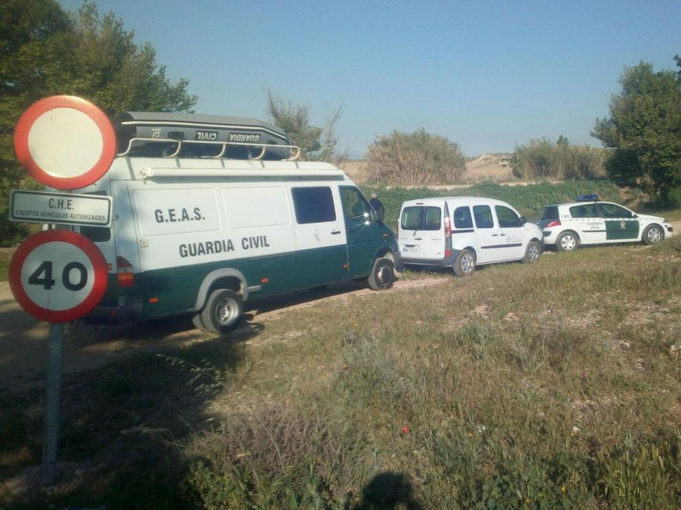 Sigue la búsqueda del desaparecido en Garrapinillos