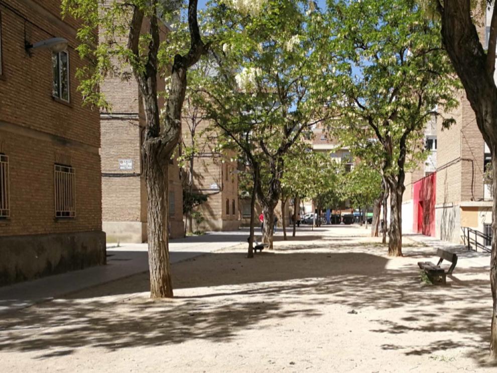 Excrementos en la zona entre los pabellones del Tío Jorge, en frente de la plaza de la Memoria Histórica.