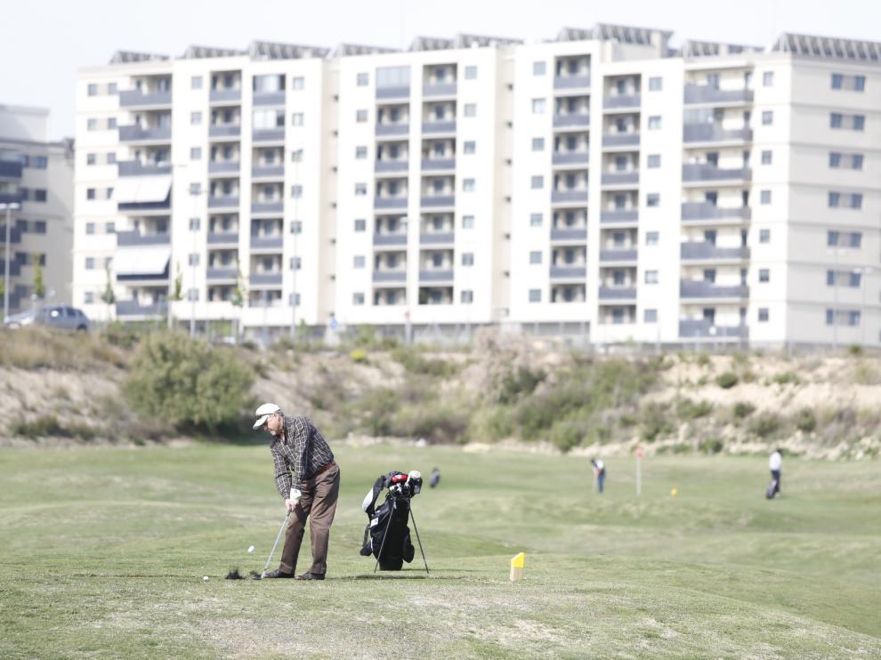 Campo de Golf en Arcosur.